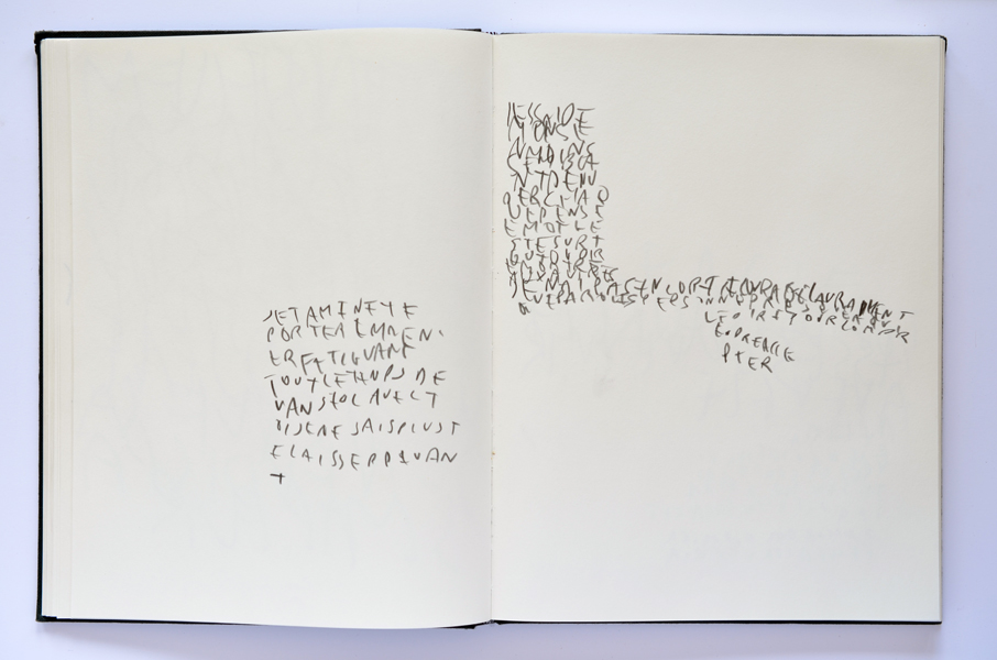 Carnet, Notes, Emmanuel ARAGON, 2012/in progress